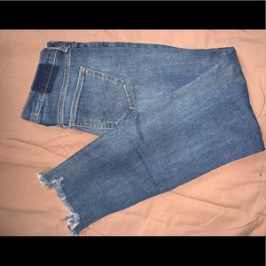 Old navy distressed jeans size W28